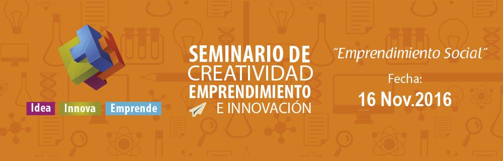 Seminario emprendimiento social 2016